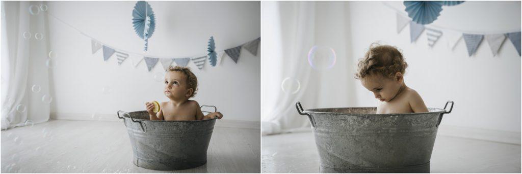Servizi Fotografici Bambini Pistoia con Smash Cake - Laura Malucchi